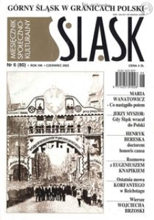 Śląsk, 2002, R. 8, nr 6