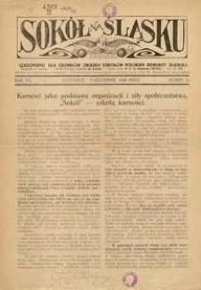 Sokół na Śląsku, 1928, R. 7, Nr. 10