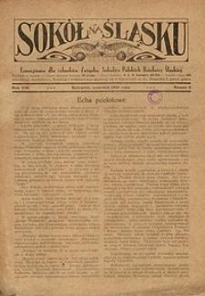 Sokół na Śląsku, 1929, R. 8, Nr. 9