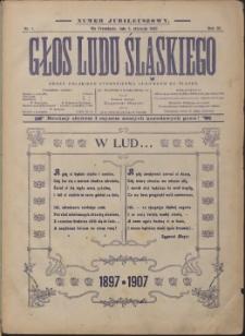 Głos Ludu Śląskiego, 1907, Nry 1-52