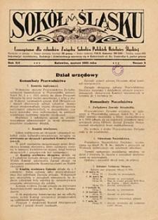 Sokół na Śląsku, 1933, R. 12, nr 3