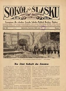 Sokół na Śląsku, 1933, R. 12, nr 6