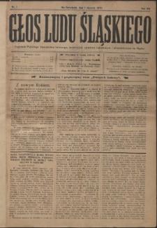 Głos Ludu Śląskiego, 1910, Nry 1, 3-18, 20-23, 27-33, 35-41, 43-51