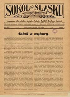 Sokół na Śląsku, 1935, R. 14, nr 9
