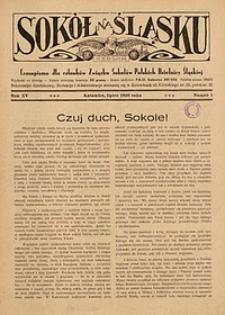 Sokół na Śląsku, 1936, R. 15, nr 7