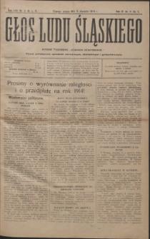 Głos Ludu Śląskiego, 1914, Nry 1-52, 1915, Nry 2, 52, 1916, Nry 52-53