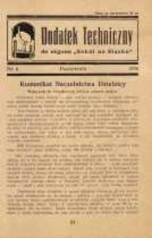 "Dodatek Techniczny do organu ""Sokół na Śląsku"", 1936, nr 6"