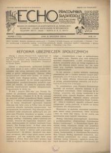 Echo Pracownika Śląskiego, 1934, R. 15, nr 8