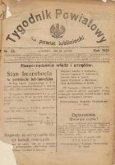 Tygodnik Powiatowy na Powiat Lubliniecki, 1928, nr 52