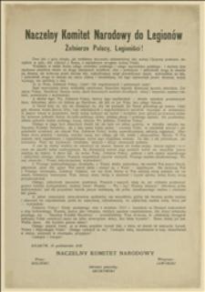 Naczelny Komitet Narodowy do Legionów