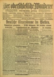 Der Oberschlesische Wanderer, 1918, Jg. 91, Nr. 85