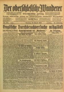 Der Oberschlesische Wanderer, 1918, Jg. 91, Nr. 184