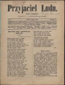 Przyjaciel Ludu, 1889, Nry 1-24