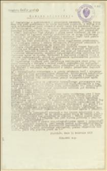 Pismo Władysława Sikorskiego o sprawach organizacyjnych rozbudowania Legionu Polskiego i załagodzeniu starć z brygadierem Piłsudskim - 11.04.1915