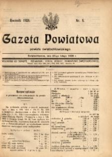 Gazeta Powiatowa Powiatu Świętochłowickiego, 1928, nr 8