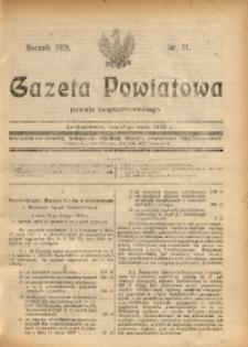 Gazeta Powiatowa Powiatu Świętochłowickiego, 1928, nr 11
