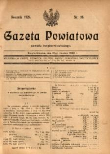 Gazeta Powiatowa Powiatu Świętochłowickiego, 1928, nr 16