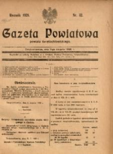 Gazeta Powiatowa Powiatu Świętochłowickiego, 1928, nr 32