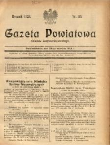 Gazeta Powiatowa Powiatu Świętochłowickiego, 1928, nr 39