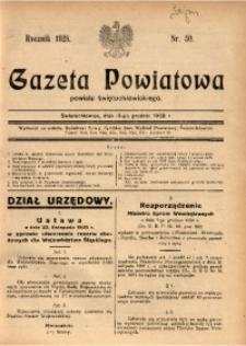 Gazeta Powiatowa Powiatu Świętochłowickiego, 1928, nr 50