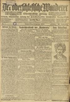 Der Oberschlesische Wanderer, 1919, Jg. 92, Nr. 1