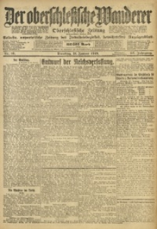 Der Oberschlesische Wanderer, 1919, Jg. 92, Nr. 16