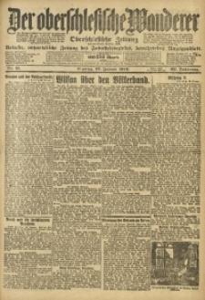 Der Oberschlesische Wanderer, 1919, Jg. 92, Nr. 21