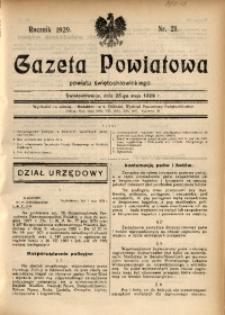 Gazeta Powiatowa Powiatu Świętochłowickiego, 1929, nr 21