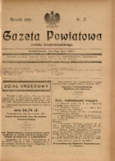 Gazeta Powiatowa Powiatu Świętochłowickiego, 1929, nr 27