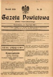 Gazeta Powiatowa Powiatu Świętochłowickiego, 1929, nr 28