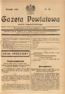 Gazeta Powiatowa Powiatu Świętochłowickiego, 1929, nr 41