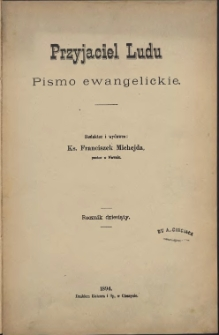 Przyjaciel Ludu, 1894, Nry 1-24