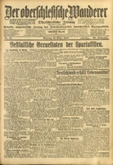 Der Oberschlesische Wanderer, 1919, Jg. 92, Nr. 57