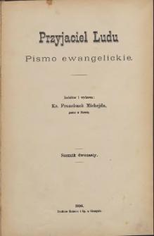 Przyjaciel Ludu, 1896, Nry 1-24
