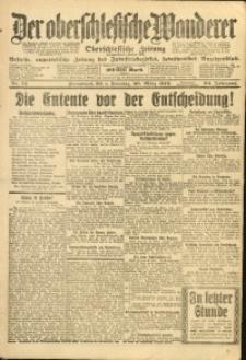 Der Oberschlesische Wanderer, 1919, Jg. 92, Nr. 74