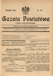 Gazeta Powiatowa Powiatu Świętochłowickiego, 1929, nr 48