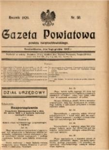 Gazeta Powiatowa Powiatu Świętochłowickiego, 1929, nr 50