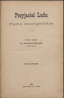 Przyjaciel Ludu, 1895, Nry 1-24