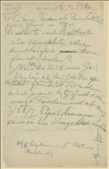 Polecenia i zapytania z komendy armii austriackiej? dotyczące działalności legionów w Jabłonkowie