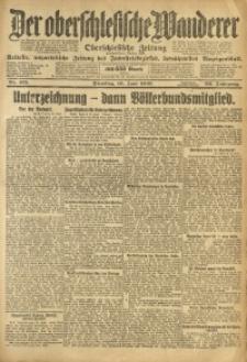 Der Oberschlesische Wanderer, 1919, Jg. 92, Nr. 132