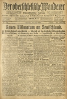 Der Oberschlesische Wanderer, 1919, Jg. 92, Nr. 138