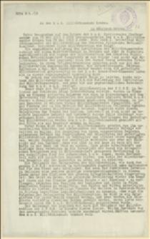 Pismo w sprawie uprawnień i zakresu działalności komisarzy wojskowych