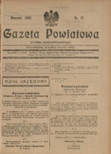 Gazeta Powiatowa Powiatu Świętochłowickiego, 1930, nr 17