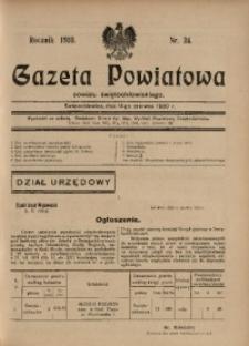 Gazeta Powiatowa Powiatu Świętochłowickiego, 1930, nr 24