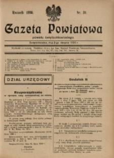 Gazeta Powiatowa Powiatu Świętochłowickiego, 1930, nr 31