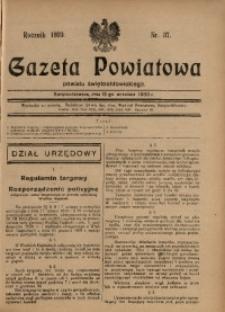 Gazeta Powiatowa Powiatu Świętochłowickiego, 1930, nr 37