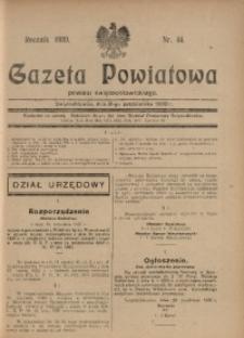 Gazeta Powiatowa Powiatu Świętochłowickiego, 1930, nr 44