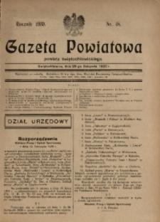 Gazeta Powiatowa Powiatu Świętochłowickiego, 1930, nr 48