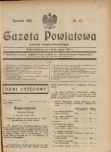 Gazeta Powiatowa Powiatu Świętochłowickiego, 1931, nr 11