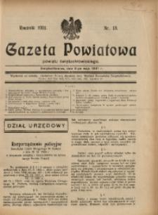 Gazeta Powiatowa Powiatu Świętochłowickiego, 1931, nr 18
